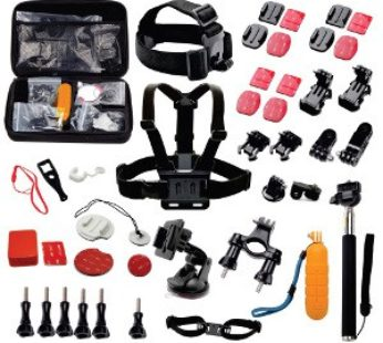 Action Mounts Accessory Kit with 19 items inside (AM-KIT-19IN1)