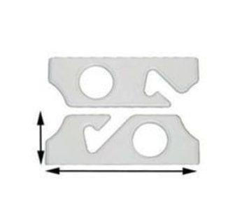 Ultimate Deals CMH Rod Holder Rack 2 Poly (CMH20-12719)