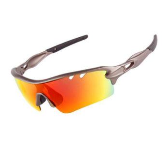 KD Rivbos Polarised 5 Lens Triathlon Run Cycle Sunglasses (SU-P/S)