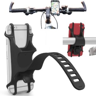 silicone smartphone bicycle mount