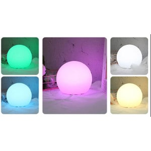 Multi-Colour LED ball table light