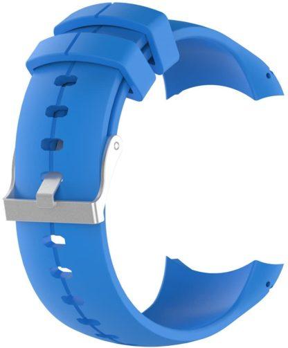 blue suunto spartan sport silicone strap