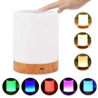 different colour night touch lamp
