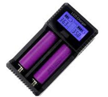 KD Double slot LCD multi-function lithium battery charger (ZH221C)