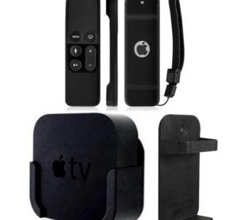 KD Remote Holder and case + Holder for Apple TV Combo