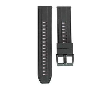 KD 22mm Polar Grit X replacement silicone strap – Black (S-M-L)