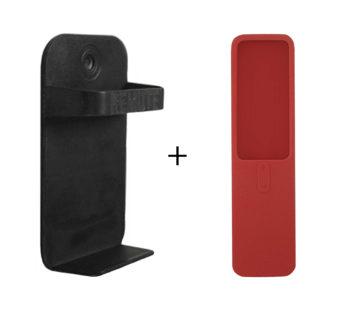 KD Xiaomi MI TV Box remote control holder stand + protective case combo