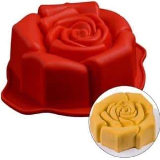 silicone rose cake mould