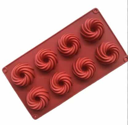 silicone mini swirl mould