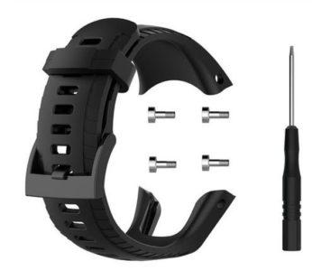KD Suunto 5 replacement silicone strap – Black (S-M-L)