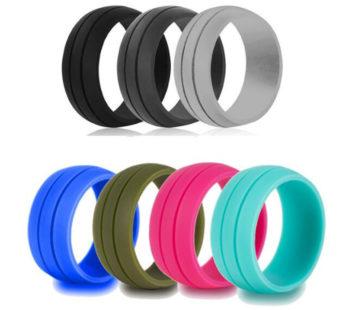 KD alternative silicone rings set – (x7) USA 6 RSA L-½