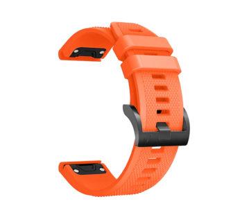 Special Offer KD 20mm Garmin Fenix 5S/6S silicone strap – Orange (S-M-L)