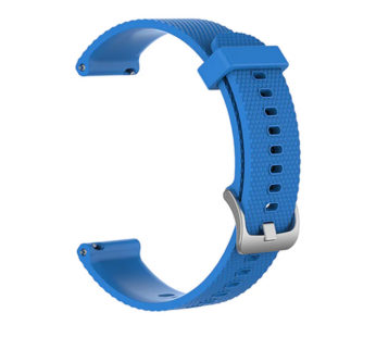KD Suunto Fitness 3/Garmin Venu replacement silicone strap – Blue (S-M-L)