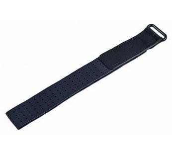 KD Fitbit Inspire/Charge 2/Alta nylon velcro strap – Black (S-M-L)