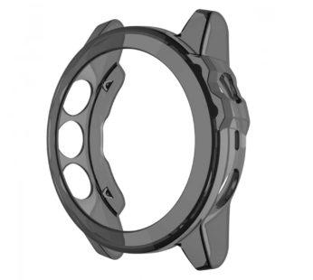 KD Garmin Fenix 5X replacement TPU silicone protective case – Black