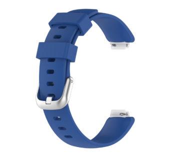 KD Fitbit Inspire 2 replacement silicone strap – Dark blue (M-L)